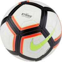 Piłka nożna, Piłka nożna Nike Strike Team 290g SC3127-100 biało-pomarańczowo-limonkowa