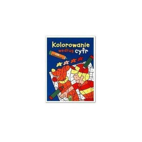Kolorowanki, Kolorowanie według cyfr + zakładka do książki GRATIS