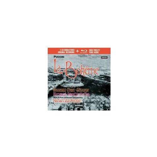 Pozostała muzyka rozrywkowa, PUCCINI LA BOHEME (2CD + 1 BLU-RAY AUDIO) - Luciano Pavarotti (Płyta CD)