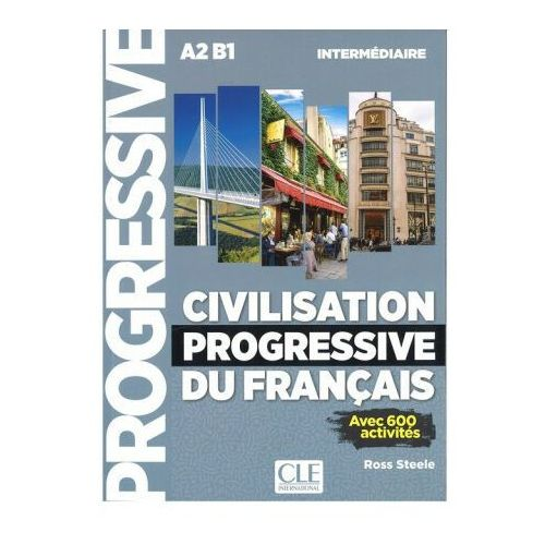 Książki do nauki języka, Civilisation progressive du francais intermediaire + CD MP3 - Steele Ross (opr. miękka)