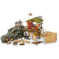 Figurki i postacie, Schleich Stacja badawcza dzikich zwierząt w dżungli 42350