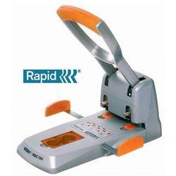 RAPID Dziurkacz SUPREME HDC150 2 otworowy, do 150 kartek, srebrno-pomarańczowy