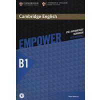 Książki do nauki języka, Empower Pre-Intermediate Ćwiczenia z Odpowiedziami + Downloadable Audio (opr. miękka)