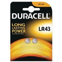 Baterie, 2 x bateria alkaliczna mini Duracell G12 / LR43 / 186 / V12GA / L1142