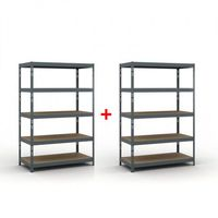 Regały warsztatowe, Regał półkowy 1800 x 1200 x 600 mm, nośność 280 kg 1+1 GRATIS Włóż do koszyka jedną sztukę, drugą sztukę wyślemy automatycznie gratis. Akcja trwa do wyprzedania zasobów.