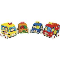 Zabawka KS KIDS Samochodziki z napędem (4 elementy)