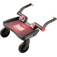 Dostawki do wózków, Buggy Board Mini marki Lascal kolor czerwony