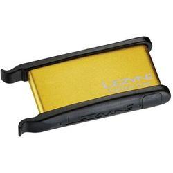 Łatki do dętek Lezyne Lever Kit, pudełko i łyżki, złote opakowanie, aluminium