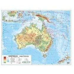 Australia 1:12 100 000 mapa pol. i fiz. ścienna - Praca zbiorowa