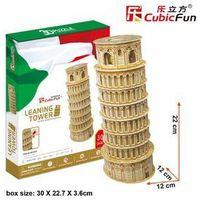 Puzzle, Cubic Fun, puzzle 3D Krzywa Wieża w Pizie