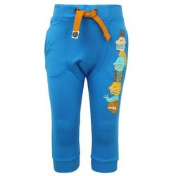 Mainio ZGREEN FACE TO FACE CHILDREN'S BOMBER SWEATPANTS Spodnie treningowe blue