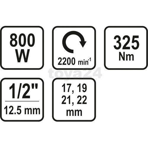 Klucze udarowe, Sthor 57091