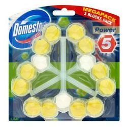 Kostka toaletowa Domestos Power 5 Lime 3 x 55 g