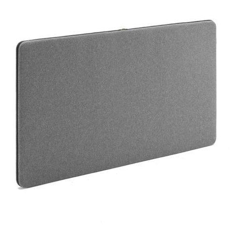 Tablice i flipcharty, Panel dźwiękochłonny ZIP CALM, 1200x650 mm, szary