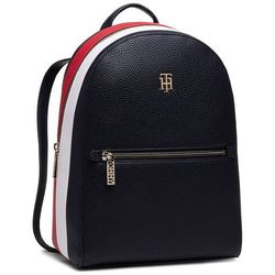 Plecak TOMMY HILFIGER - Th Essence Backpack Corp AW0AW08849 Sky Captain