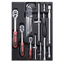 Zestawy narzędzi ręcznych, Zestaw Gola kluczy, chrom-vanadium