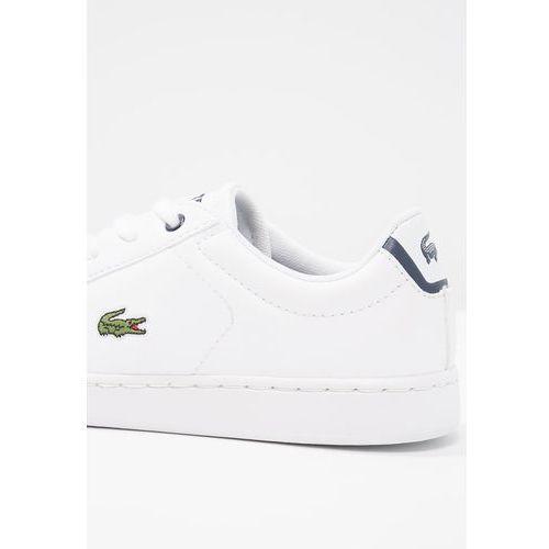 Buty sportowe dla dzieci, Lacoste CARNABY EVO BL 1 SP Tenisówki i Trampki white/navy