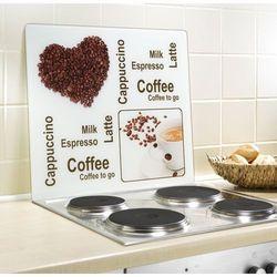 Szklana płyta ochronna COFFEE EXPERIENCE na kuchenkę – duża