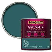 Farby, Farba Magnat Ceramic intensywny szmaragd 2,5 l