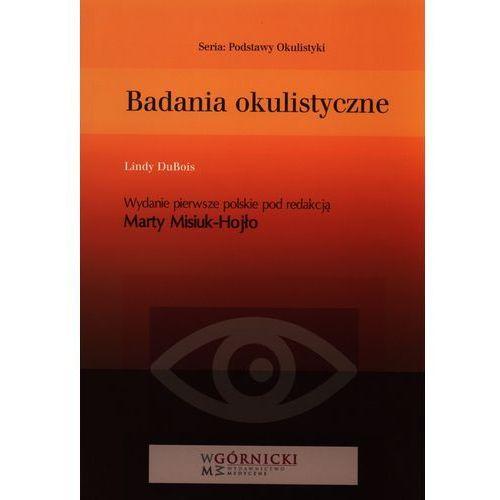 Książki medyczne, Badania okulistyczne (opr. miękka)