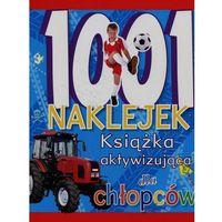 Naklejki, 1001 naklejek Książka aktywizująca dla chłopców