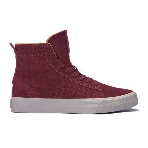 Męskie obuwie sportowe, buty SUPRA - Belmont High Port-Bone (PRT) rozmiar: 43
