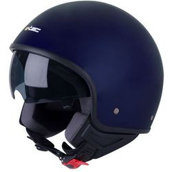 Kask motocyklwoy otwarty na skuter chopper W-TEC FS-710, Ciemnoniebieski, L (59-60)