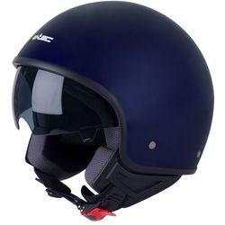 Kask motocyklwoy otwarty na skuter chopper W-TEC FS-710, Ciemnoniebieski, XS (53-54)
