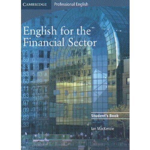 Książki do nauki języka, English for the Financial Sector Student's Book (podręcznik) (opr. miękka)