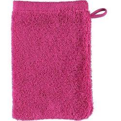 Rękawica kąpielowa lifestyle sport gładka 16 x 22 cm różowa