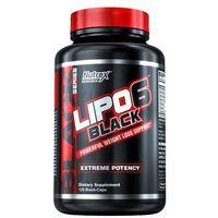 Redukcja tkanki tłuszczowej, Nutrex Lipo 6 Black - 120 kaps