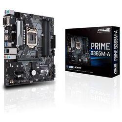 ASUS PRIME B365M-A Płyta główna - Intel B365 - Intel LGA1151 socket - DDR4 RAM - Micro-ATX