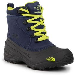 Śniegowce THE NORTH FACE - Youth Chilkat Lace II NF0A2T5R5UK Cosmic Blue/Lime Green