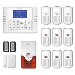bezprzewodowy system alarmowy EXPANDA R9 + syrena 105 dB - alarm bezprzewodowy EXPANDA R9 z syreną 105 dB
