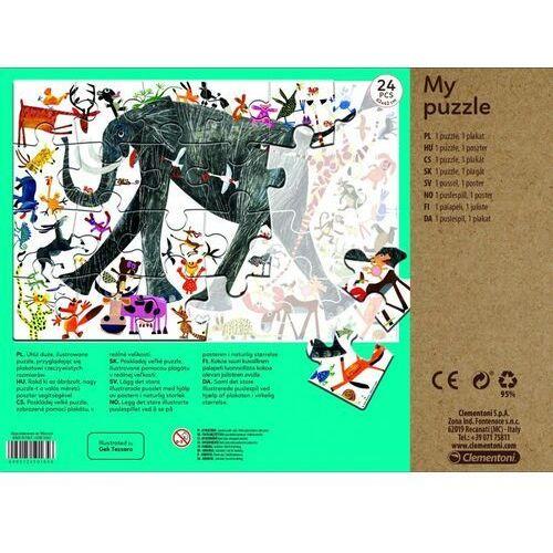 Puzzle, Moje Puzzle - Zwierzęta