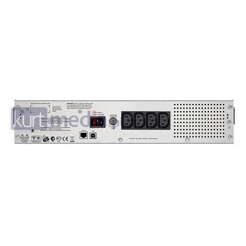 Zasilacze UPS, APC Smart-UPS C 1000VA 2U Rack mountable LCD 230V (SMC1000I-2U)