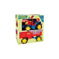 Traktory dla dzieci, Traktor- ładowarka z przyczepą 1Y36G0 Oferta ważna tylko do 2022-02-16