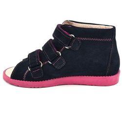 Buty profilaktyczne dla dzieci Dawid 1043 - Różowy ||Granatowy