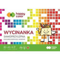 BLOK Wycinanka Samoprzylepna HAPPY COLOR A5/8K