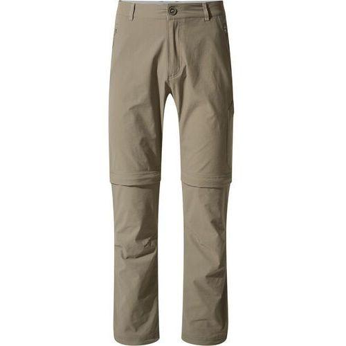 "Spodnie męskie, Craghoppers NosiLife Pro Spodnie z odpinanymi nogawkami Mężczyźni, pebble 38""   EU 54 (Long) 2020 Spodnie i jeansy"