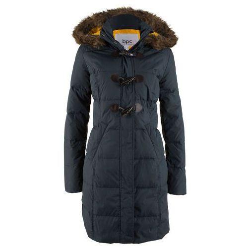 Płaszcze damskie, Płaszcz pikowany (lekki puch) bonprix intensywny niebieski