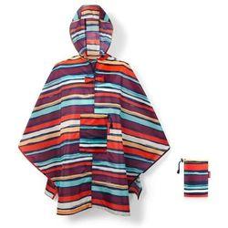 Reisenthel - peleryna mini maxi poncho - artist stripes
