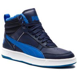 Sneakersy PUMA - Rebound Street V2 Fur Jr 363919 05 Peacoat/Strong Blue/White