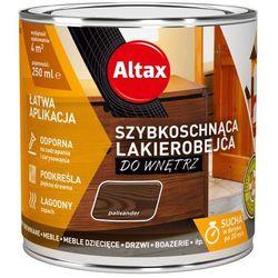 Lakierobejca szybkoschnąca do wnętrz Altax palisander 0,25 l