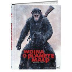 Wojna o Planetę Małp (Książka +DVD) - Matt Reeves. DARMOWA DOSTAWA DO KIOSKU RUCHU OD 24,99ZŁ