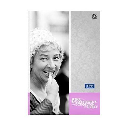 Filmy dokumentalne, Irena Kwiatkowska - Dla dorosłych i dla dzieci (DVD) - Roman Dziewoński OD 24,99zł DARMOWA DOSTAWA KIOSK RUCHU