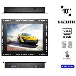 NVOX OP1000VHT Monitor dotykowy open frame LCD 10
