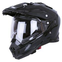 Kask motocyklowy W-TEC AP-885 ENDURO + BLENDA, Matt.czarny, M (57-58)
