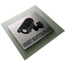 Obiekt Monitorowany - Tabliczka Piktogram Dibond