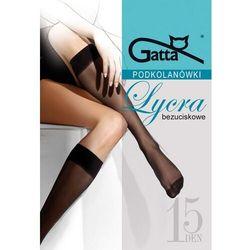 Podkolanówki Gatta Lycra 15 den A'2 ROZMIAR: uniwersalny, KOLOR: beżowy/sierra, Gatta
